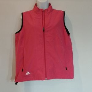 Adidas Climaproof wind vest pink medium